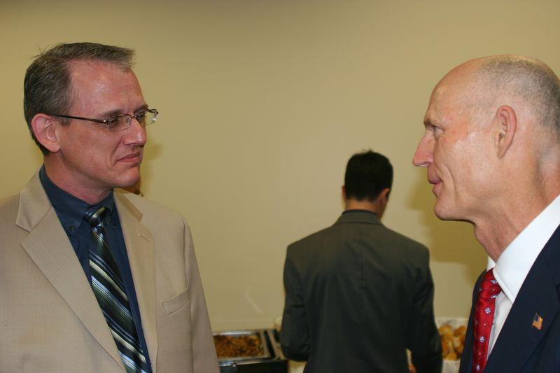 David & Governor Scott