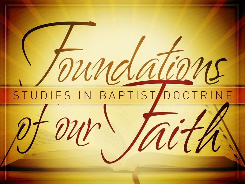 Foundations of our faith_t