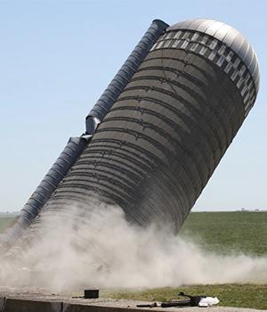 Destroy silos