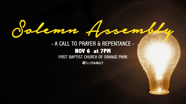 Solemn assembly fb event