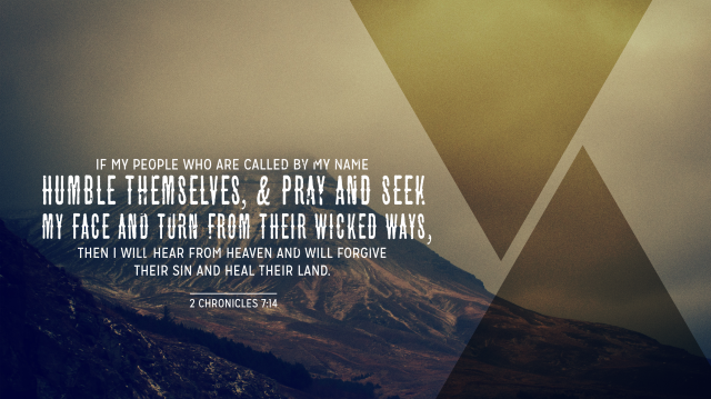 2 Chronicles 7:14 [widescreen]