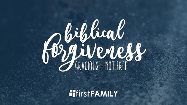 Forgiveness event