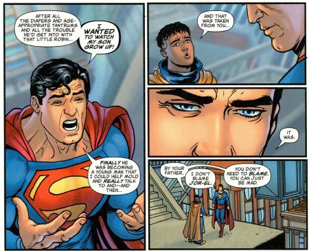 Superman mad
